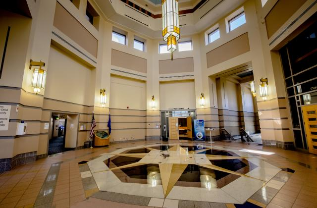 County buildings open for business